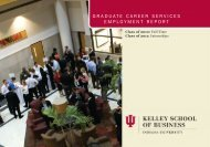 Full-Time MBAs - Kelley School of Business - Indiana University