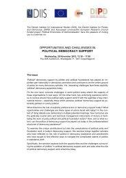Upload invitation with bios of speakers - Danish Institute for Parties ...