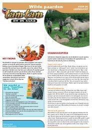 Wilde paarden - Wereld Natuur Fonds