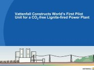 Vattenfall Constructs World's First Pilot Unit for a CO -free ... - p.wnp.pl