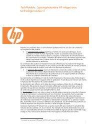 Spectrophotomètre (191 KB PDF) - HP