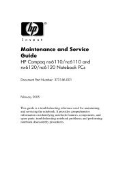 Maintenance and Service Guide - static.highspeedb...