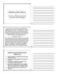 Qualitative Data Analysis - Apple