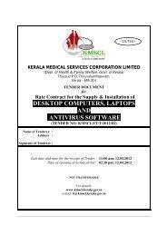 desktop computers, laptops and antivirus software - Kerala Medical ...