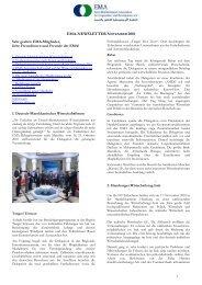 Newsletter 06/2010 - EMA