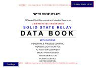 solid state relay data book - Rfoe.net