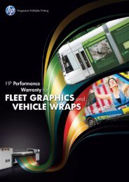 HP vehicle wrap solution