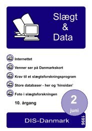 1996-2 slægt & data.pdf - DIS-Danmark