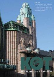 Årsberetningen kan læses i KOT - klik her - Vejen Kunstmuseum