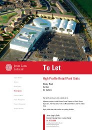 To Let - Jones Lang Lasalle