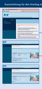 Informationen erhalten Sie in der Direktion der R+V ... - Seite 5