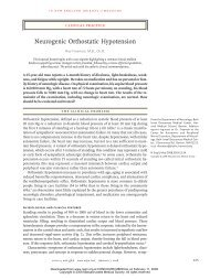 Neurogenic Orthostatic Hypotension