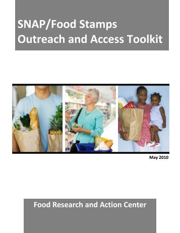 SNAP/Food Stamps Outreach and Access Toolkit - Food Research ...