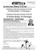 SV Menzingen - SV Kickers Büchig - Page 3