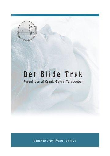 Det Blide Tryk - Foreningen af Kranio-Sakral Terapeuter