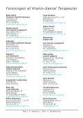 Det Blide Tryk - Foreningen af Kranio-Sakral Terapeuter - Page 3