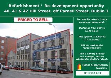 Refurbishment / Re-development opportunity 40, 41 ... - MyHome.ie