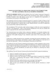 notice of intention to amend the conflict-of-interest code of the ...