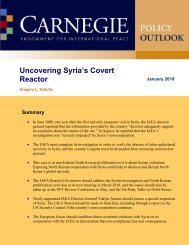 Uncovering Syria's Covert Reactor - Carnegie Endowment for ...