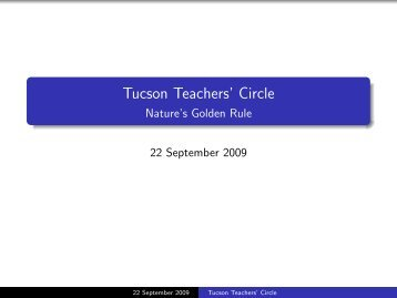 a copy of the Powerpoint presentation. - Institute for Mathematics ...