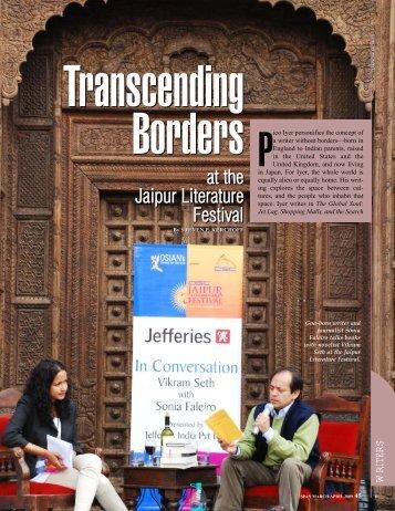 Transcending Borders at the Jaipur Literature ... - SPAN Magazine