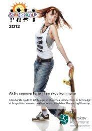 Aktiv sommerferie i Favrskov kommune - Favrskov bibliotekerne
