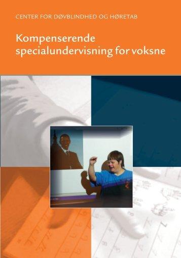 Kompenserende specialundervisning for voksne - folder - Center for ...