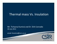 Thermal mass Vs. Insulation - Alive2green