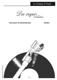 Le Forum 02/2001 - Da capo