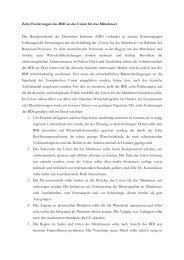Zehn Forderungen des BDI an die Union für das Mittelmeer ... - EMA