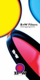 B+W Filters Leveringsprogramma - VB