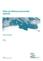 Water use efficiency and economic approach - CMI