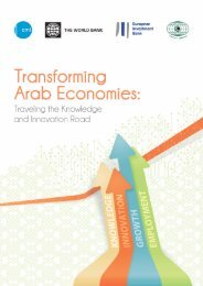 Transforming Arab Economies: Traveling the Knowledge and ... - CMI