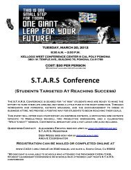 S.T.A.R.S Conference - CADA
