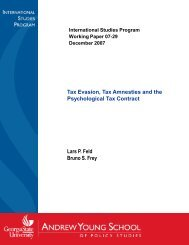 Tax Evasion, Tax Amnesties and the Psychological Tax Contract ...