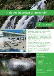 Bornholm 4 dage.indd - Oscar Holidays