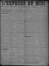 10 Janvier 1898 - Bibliothèque de Toulouse