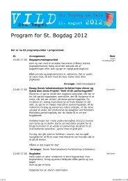 Program for ST. BOGDAG P. HALD 2012 - i al printvenlighed