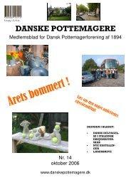 2006 - Medlemsblad nr. 14 - Pottemagere   Keramiker