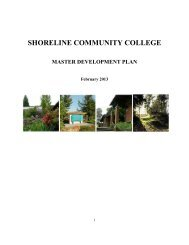 DRAFRT Shoreline Community College Master Development Plan ...