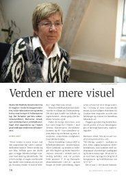 Interview med Marianne Jelved - Verden er mere visuel