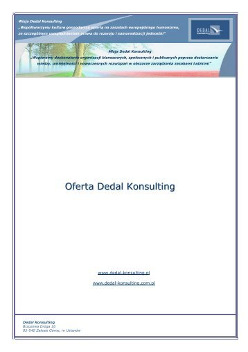 Oferta Dedal Konsulting - img1.oferia.pl