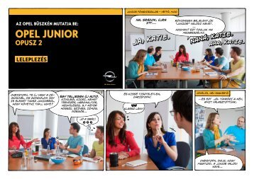 OPEL Junior Opus 2 (HU) - Opel Media