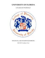 FINANCIAL AID HANDBOOK 2012-2013.pdf - College of Pharmacy ...