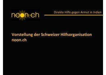Vortrag (PDF) - noon.ch