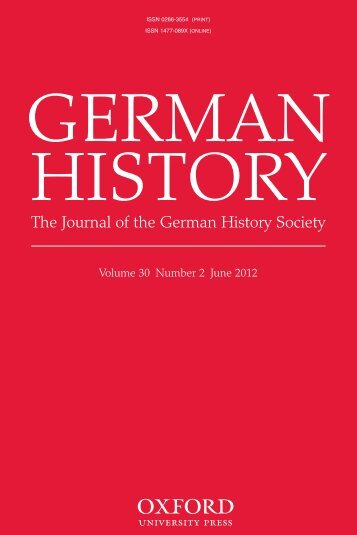 Front Matter (PDF) - German History - Oxford Journals