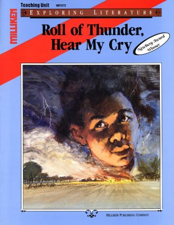 Roll of Thunder, Hear My Cry Literature Guide - Secondary Solutions