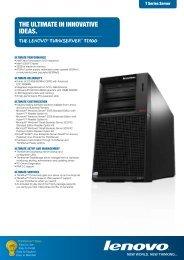 TD100 Datasheet - Lenovo | US