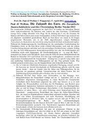 Presseerklärung - EIIW