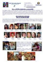 CLI ~ INFOS Separata ~ Junio 2008
